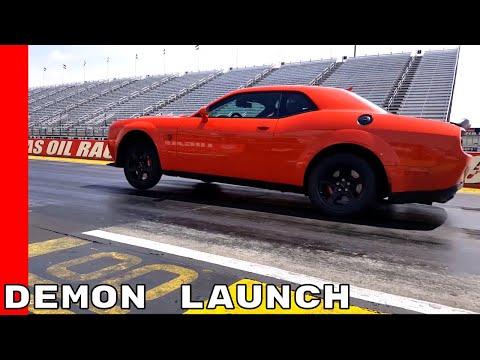 2018 Dodge Challenger SRT Demon Launch