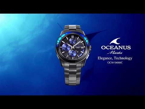 CASIO OCEANUS OCW-G1000 Promotion video(Functional video ...