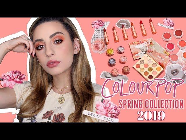 Colourpop Spring Collection 2019: Swatches & Demo!