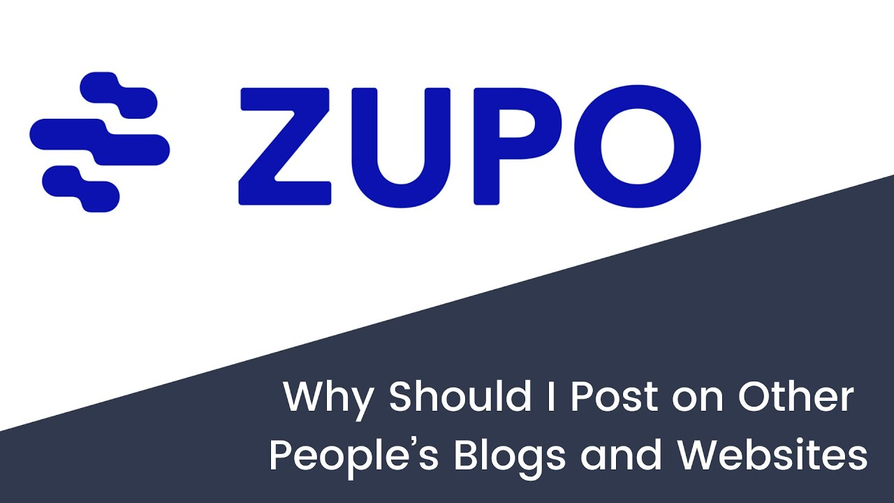 Why Should I Post on Other People's Blogs and Websites