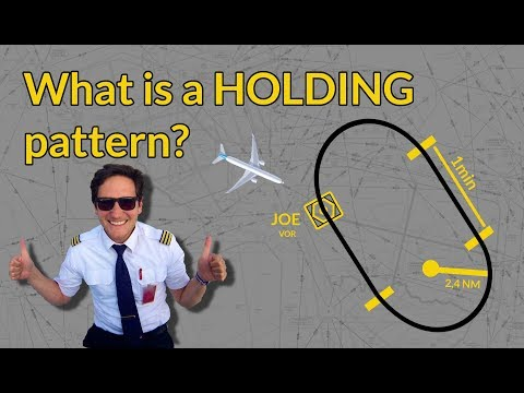 WHAT is a HOLDING PATTERN? PART 1 Explained by CAPTAIN JOE