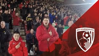 Fan Cam | The Steve Fletcher Stand Celebrate As Benik Afobe Scores The Second Against Southampton