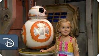 DisneyKids Meet BB-8 at Disneys Hollywood Studios  Walt Disney World