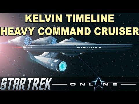 Star Trek Online - Kelvin Timeline Heavy Command Cruiser [T6] Starship Review