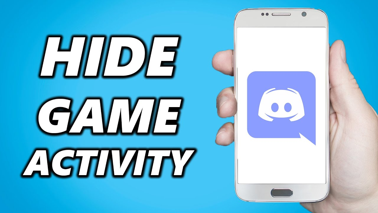 How to Hide Game Activity on Discord!