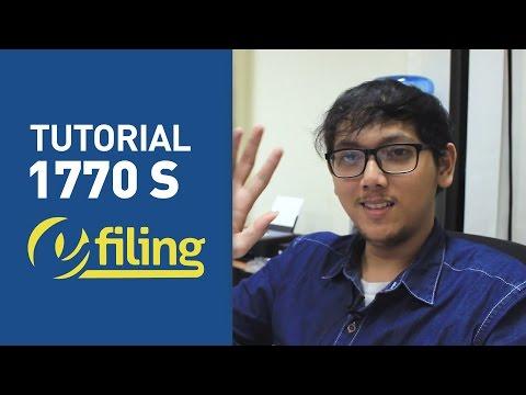 [Tutorial] E-Filing 1770 S