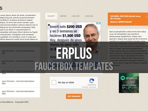 FaucetBOX Template - ERplus - YouTube