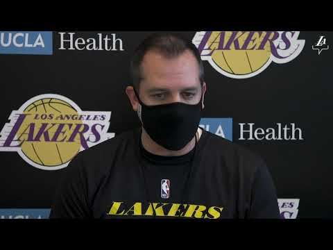 Frank Vogel says Lakers is focusing mostly on drills and live action during training