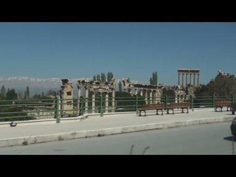 Driving Baalbek بعلبك Lebanon لبنان