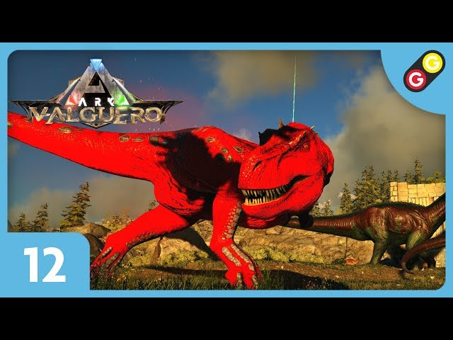 ARK : Survival Evolved - Valguero #12 L'attaque du Rex Alpha ! [FR]