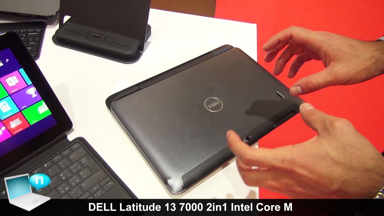 DELL Latitude 13 7000 (7350) 2in1 Intel Core M - YouTube