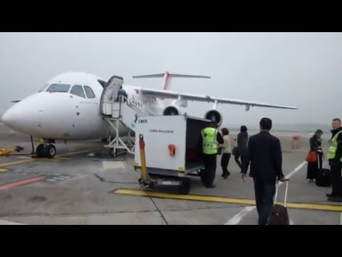 Air France (Cityjet)/Dublin - Paris CDG/Business Class/Avro 85/Sept 2014