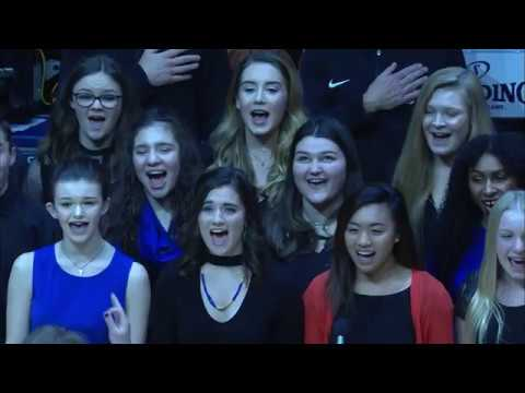 The MPAC Performing Arts Company's National Anthem at Madison Square Garden