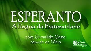 Alfredo Aragón: A importância do Esperanto - Esperanto - A Língua da Fraternidade