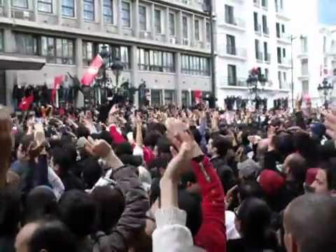 """Tunisia Revolution A historic moment """"CLEAR"""""""