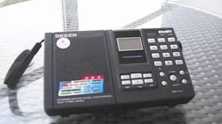 RBC琉球放送 738kHz AM7:00 2011.11.26 DE1121 恩納村の村内放送「恋は...
