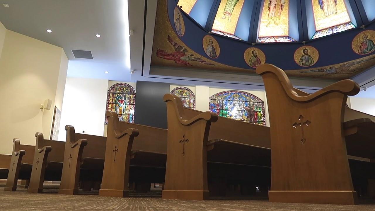 Sauder Worship Seating and St Demetrios Greek Orthodox Church