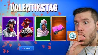 VALENTINSTAG IN FORTNITE! BATTLE PASS SEASON 8 KOSTENLOS!