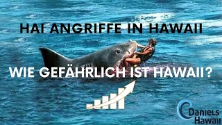 🦈Hai Angriffe in Hawaii - Hai Attacken im Hawaii Urlaub 🌺