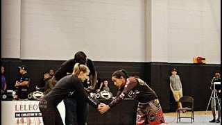 LeLeo Code BJJ INVITATIONAL #3 Jasmine Rocha Vs Jasmine Johnson