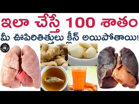 Best Tips to Clean Your Lungs | How to Clean Lungs? | Health Tips in Telugu | Telugu Panda