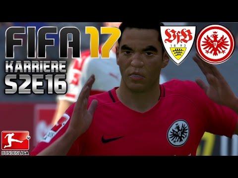 FIFA 17 KARRIERE ⚽️ S02E16 • 9. SPIELTAG: VfB Stuttgart vs. Eintracht Frankfurt