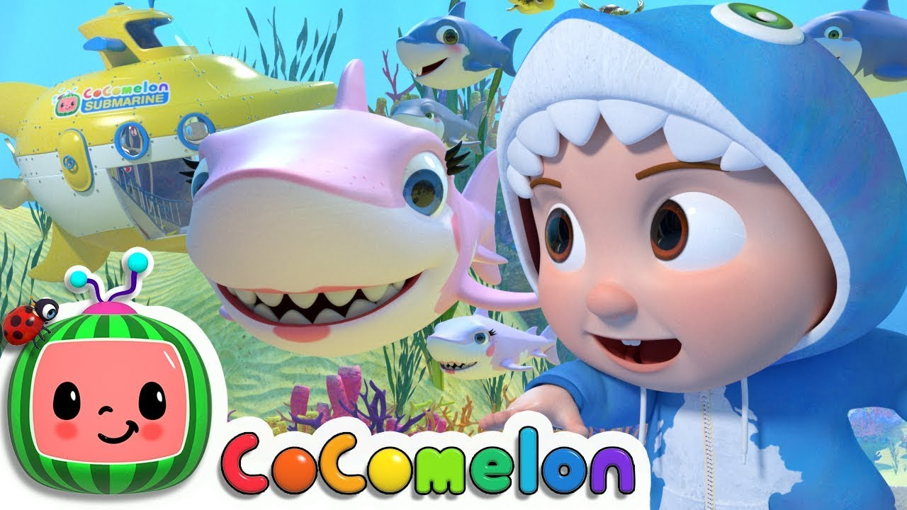 Baby Shark Submarine Cocomelon Nursery Rhymes Kids Songs Youtube