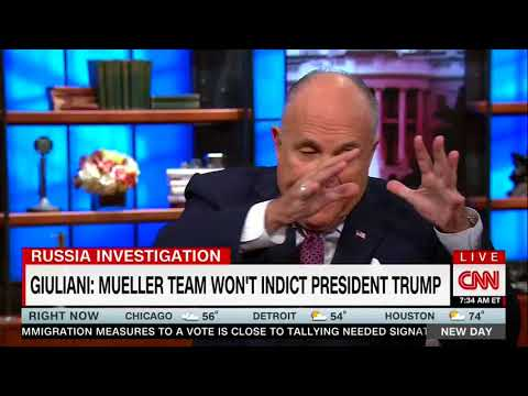 Giuliani Insists Russia Probe Is A 'Witch Hunt'
