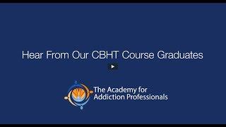 Certified Behavioral Health Technician (CBHT) Testimonials