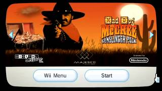 Mad Dog McCree Gunslinger Pack Public Stream (Wii) - Complete