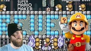 A Dish Best Served Mole'd Part 1   That Horrible Troll Level - Super Mario Maker