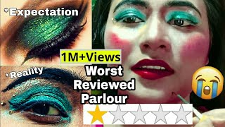 I WENT TO THE WORST REVIEWED MAKEUP ARTIST IN INDIA KOLKATA   *GONE WRONG*   RIA
