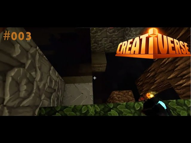 Let's Play Creativerse | Ab ins Loch !!!! | Folge #003