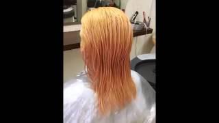 Чем затонировать рыжину после осветления из черного цвета волос