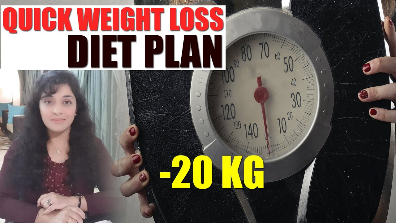 Upto 20 KG Quick Weight Loss Diet Plan by Dr. Sadia Shaikh