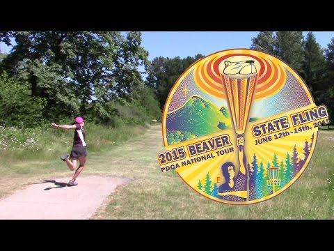 2015 Beaver State Fling FPO Round 4 Final Round (Jenkins, Weese, Allen, Hokom) Disc Golf