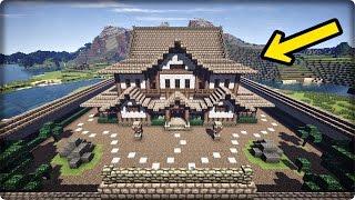 【マインクラフト】屋敷を和風建築してみる【和風の家の作り方】