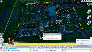 Simcity disasters - UFO - Tornado - Zombies - Giant Lizard