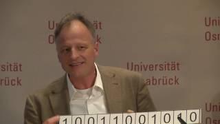 Wie funktioniert ein Computer aus Erbgut/DNA? (9. Osnabrücker Wissensforum)