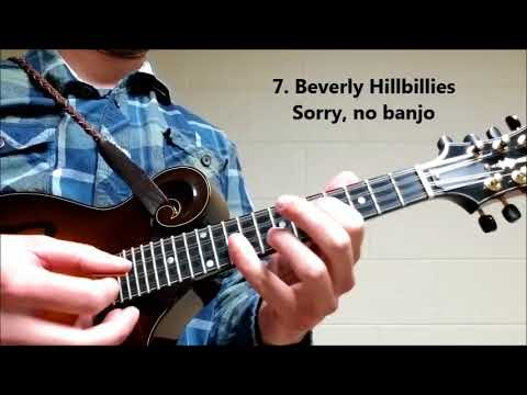 10 Theme Songs from Popular TV Shows on Mandolin