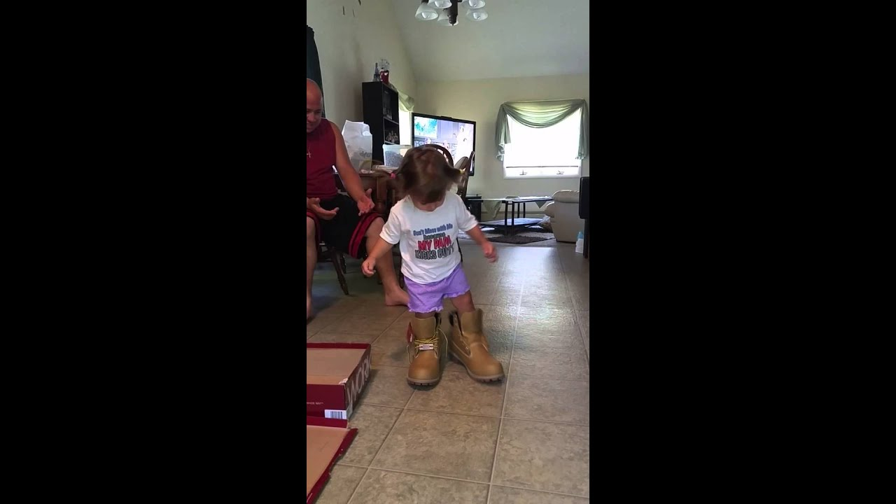 Girls with big boots