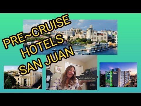 PRE CRUISE HOTELS SAN JUAN PUERTO RICO
