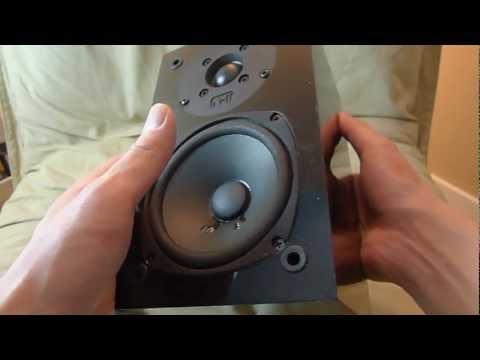 NHT Super Zero 2.0 speakers unboxing.