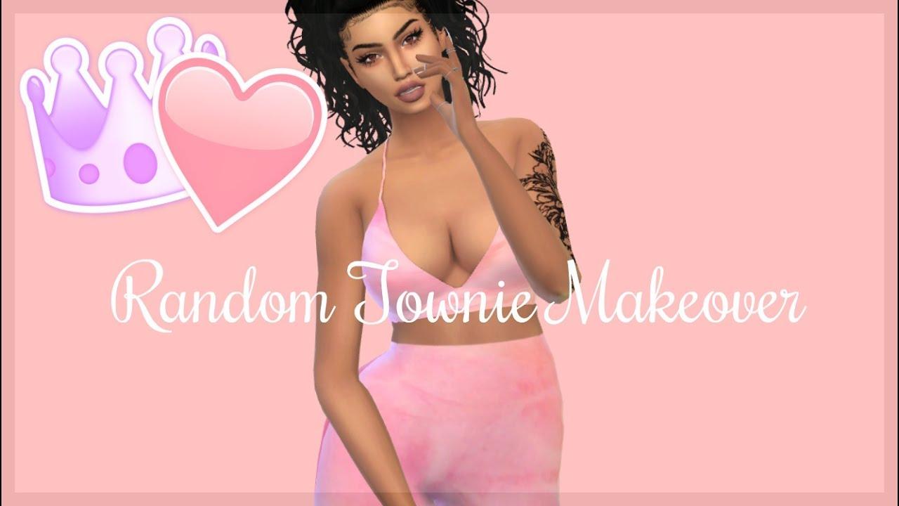 Sims 4 Random Townie Makeover