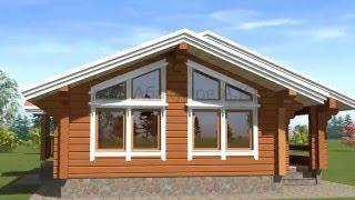 видео Строительство брусовых домов 10х10 под ключ – цены и проекты