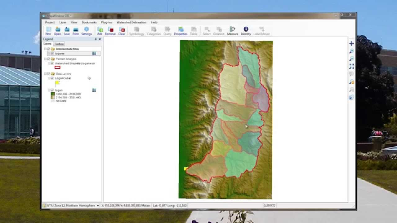 MapWindow Open Source GIS - State of the project