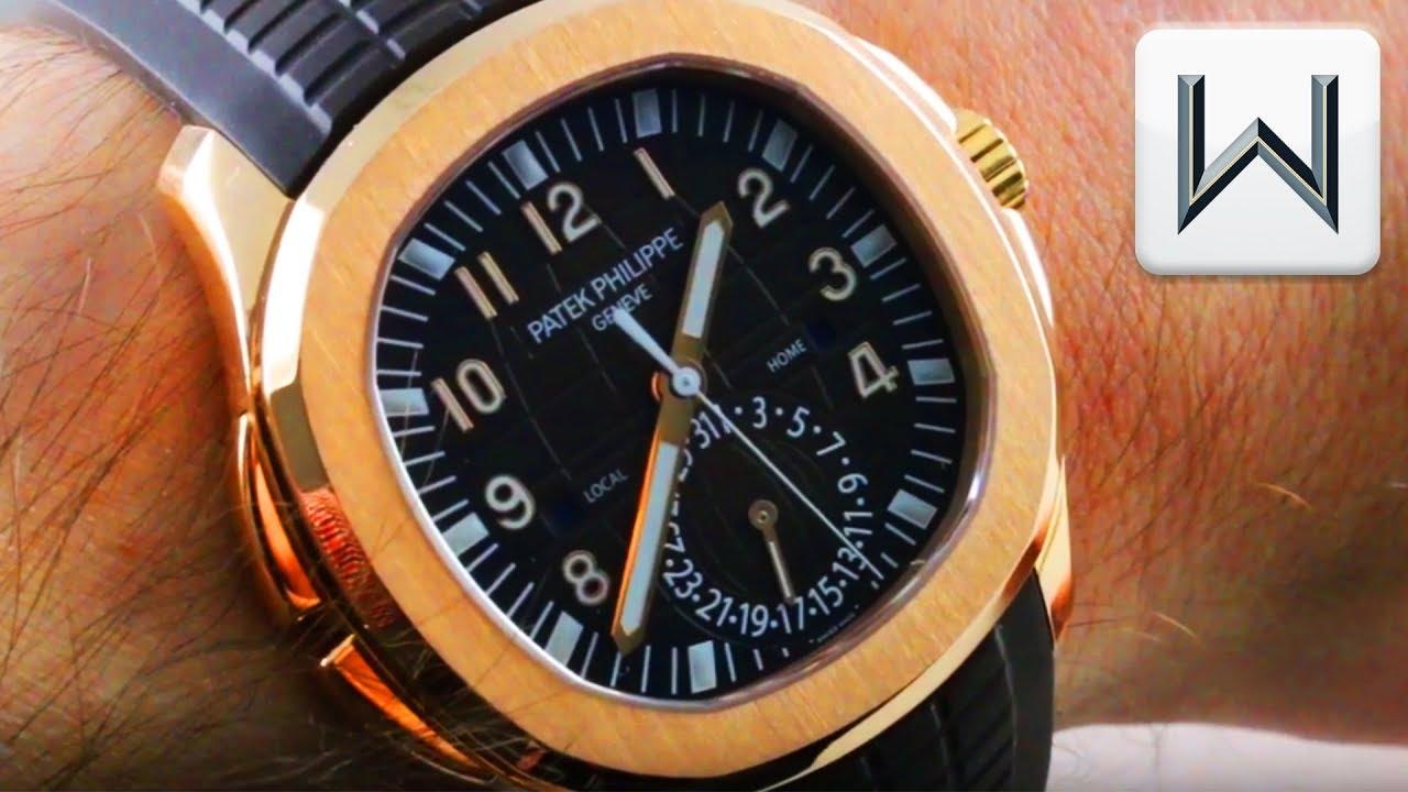 Patek Philippe Aquanaut Travel Time 5164 5167r 001 Luxury Watch