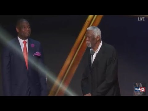 Bill Russell Receives the 2017 NBA Lifetime Achievement Award | NBA on TNT