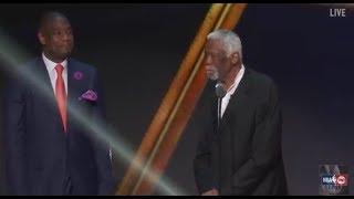Bill Russell Receives the 2017 NBA Lifetime Achievement Award | NBA on TNT