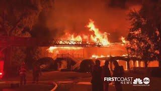 Massive fire destroys golfer Davis Love III's St. Simons, Ga. home